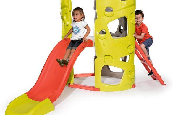 Les meilleures aires de jeux en plastique avec toboggan pour enfants