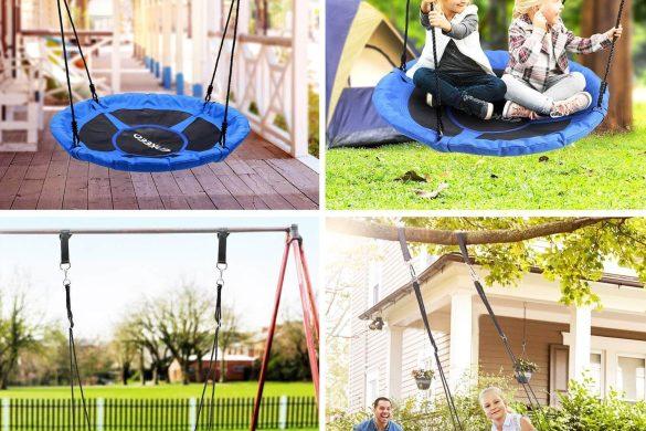 Les meilleures balançoires à nid d'oiseau pour enfants