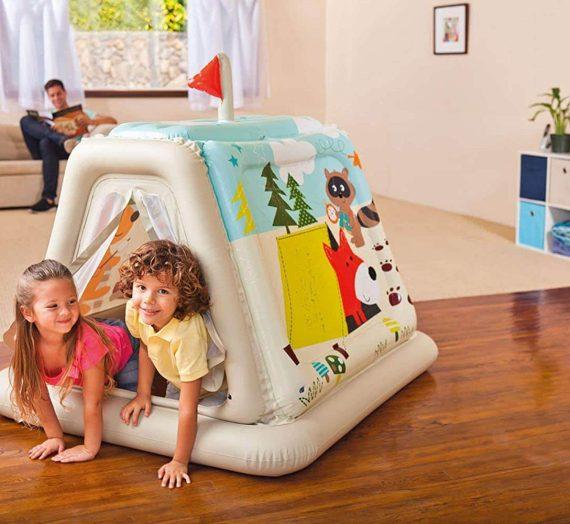 Les meilleures cabanes gonflables pour enfants