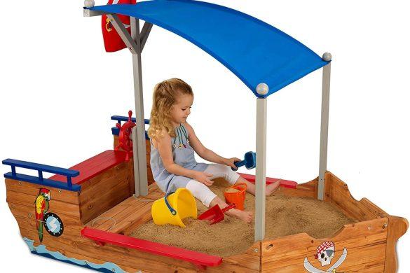 Choisir le meilleur bac à sable extérieur enfant
